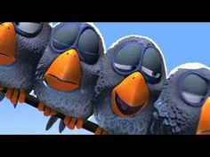 For the Birds | Original Movie from Pixar - YouTube