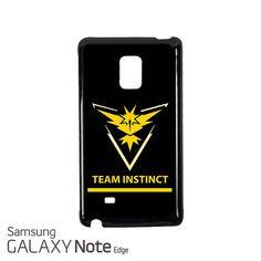 Team Instinct Pokemon GO Samsung Galaxy Note EDGE Case Cover