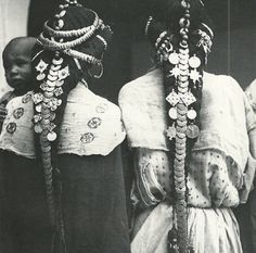 Hair adornments of the Ziz Valley, Morocco