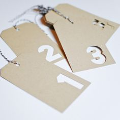 Love these! {replace numbers with initial of recipient, or use # for special bday or anniversary}