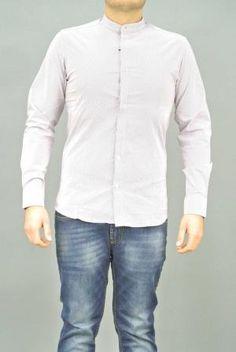 Camicia Uomo Fantasia over-d | Camicia | C320 BORDO