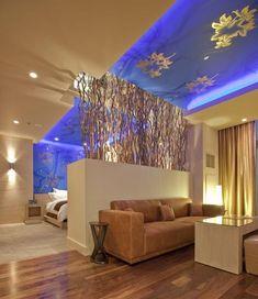 Tree Line Suite Bedroom Interior Design in Hard Rock Hotel