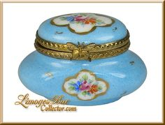 Classic Oval Floral Limoges Box - Retired