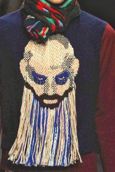 mode hommes belge : Walter Van Beirendonck, tête