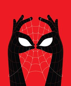 """Prints from 'MINTcondition Issue #2 Comic Book Show' at Ltd. Art Gallery.  Bruce Yan  The Amazing Spider-Hands  Limited edition (of 40) screen print on paper  Hand signed and numbered  11"""" x 14""""  $30.00"""