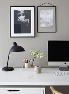 Clean, simple desk