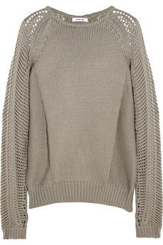 Helmut Lang Knitted sweater | THE OUTNET
