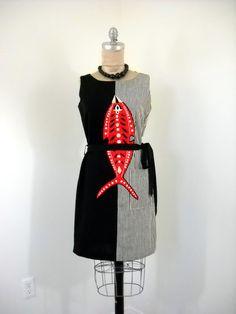 Lila Bath 1960s dress
