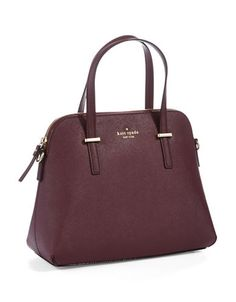 Maise Leather Satchel | Lord and Taylor