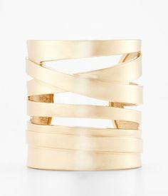 Spiral Metal Cuff