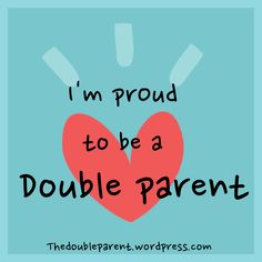 #Parenting #doubleparent #singleparents  https://www.facebook.com/TheDoubleParent    and https://twitter.com/TheDoubleParent