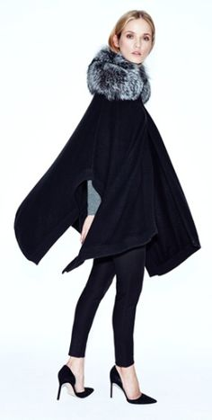 cashmere cape with detachable fur collar  http://rstyle.me/n/tygtepdpe