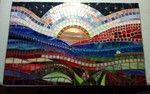 Linda Reed Beach Garden Custom Mosaic absolutearts.com