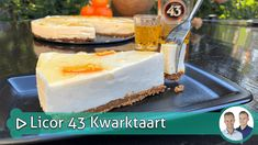 Licor 43 Kwarktaart - SterkInDeKeuken Mousse, Cheesecakes, Vanilla Cake, Eat Cake, Tiramisu, Cupcakes, Cake Recipes, Food And Drink, Favorite Recipes