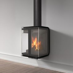 Rocal Oban Wall Mounted Wood Burning Stove