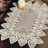 Free Crochet Patterns of TABLE CENTER BEDLAM