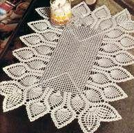 Free Crochet Patterns of TABLE CENTER BEDLAM