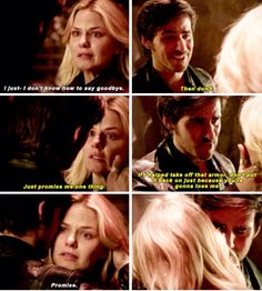 I loved how he's trying to play it down by smiling, but once she can't see his face, you can see the pain and sorrow he feels. Good job Colin