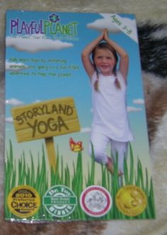 Award Winning Kids Yoga DVD: Storyland Yoga. Come & enter to win this DVD ends 6/8/12 http://saraleesdealssteals.blogspot.com/2012/05/award-winning-kids-yoga-dvd-storyland.html