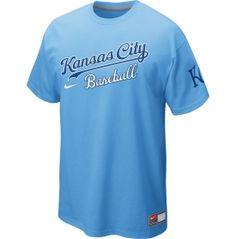 94637e087a07 Nike Men s Kansas City Royals Away Practice Light Blue T-Shirt - Dick s  Sporting Goods
