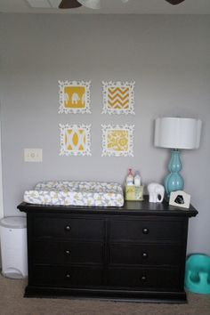 Yellow, Grey and Teal Gender Neutral Nursery - Nursery Designs - Decorating Ideas - HGTV Rate My Space