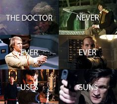 Rule # 1 - The Doctor Lies.