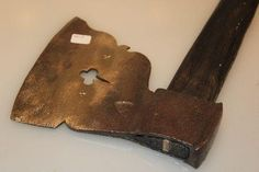 Great old axe: blade 7 x 6 inch from Nijverdal, Netherlands