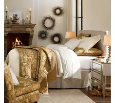 Pottery Barn American Classic Bedroom
