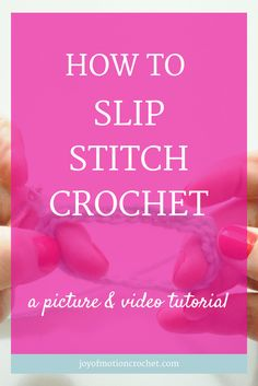 How to slip stitch crochet |basic crochet | Basic Crochet Stitch | beginner crochet | beginner crochet stitch | crochet instructions | crochet stitch | Crochet Stitch For Beginners | Crochet Stitch Guide | crochet stitch tutorial | easy crochet stitch | How to do crochet stitch | learn crochet | learn to crochet | slip stitch | slip stitch crochet | Free Crochet Tutorials | Free crochet tutorial | Free Crochet Guides | Easy crochet tutorial | Crochet tutorial with Pictures | Crochet…