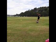Rate this out of 10! Using the Powapass football training machine. #soccer #football #sport #fitness #goal #goalkeeper #keeper #coaches #skills #drills #academy #technique #team #touch #repetitionsports @aleague @socceroos @conferationcup @worldcup2018 #reydonsportsplc