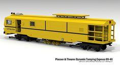 Plasser & Theurer Dynamic Tamping Express 09-4X | Flickr - Photo Sharing!