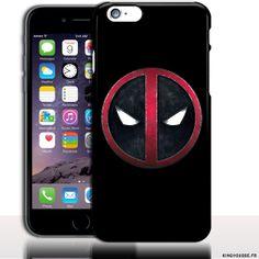 Coque iPhone 6 Apple | Desing Dead Pool - | Dimension 4.7 pouces | Coque rigide | Housse silicone