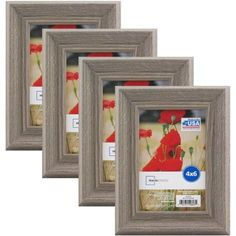 mainstays graywash frame set of 4 multiple sizes available