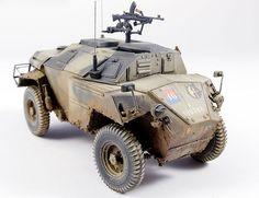Humber Armored Car by Jay Laverty (Bronco 1/35)