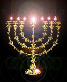 Candlestick type of Christ our light shining in the fullness of the power of the sevenfold Spirit (Isa. natural light was excluded from the Tabernacle cor. Light Of Life, Light Of The World, Menorah, Cultura Judaica, Solomons Temple, Messianic Judaism, New Jerusalem, The Tabernacle, Canada Images