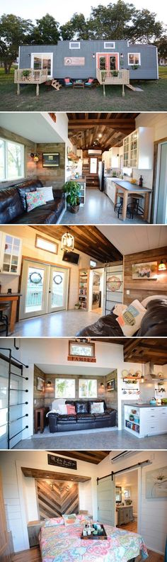 Vintage Retreat by Hill Country Tiny Houses &; Tiny Living Vintage Retreat by Hill Country Tiny Houses &; Tiny Living FUM frulma Tiny house From Hill Country Tiny Houses is […] Homes On Wheels with slide outs Tyni House, Tiny House Living, Tiny House Movement, Tiny House Plans, Tiny House On Wheels, Casas Containers, Tiny House Nation, Building A Container Home, Tiny Spaces
