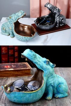 Gothic Furniture, Home Office Organization, Vintage Trucks, Hippopotamus, Home Reno, Clay Creations, House In The Woods, Decoration, Fun Projects