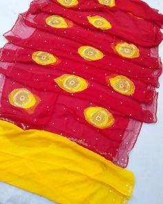 Pure chiffon saree with blouse jari tara tikki work bute.or gota patti ka work mix design Special on. Pure Georgette Sarees, Chiffon Saree, Blouse Designs, Pure Products, Instagram