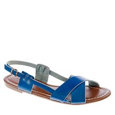 Tova Sandals! $98 I can't believe they're named Tova!!
