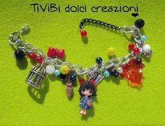 Kiki's delivery service Studio Ghibli inspired Bracelet