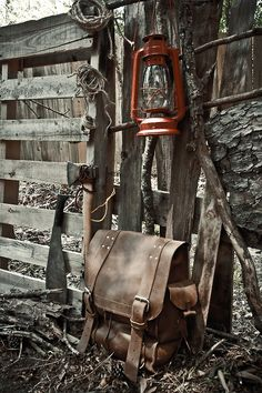 theleathernomad:  As tough as you need it to be. Leather Nomad BackPack
