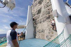 Rock Climbing Wall Climbing Wall, Rock Climbing, Aruba Cruise, Enchantment Of The Seas, Southern Caribbean Cruise, Freedom Of The Seas, Harbor Town, Bridgetown, Island Tour