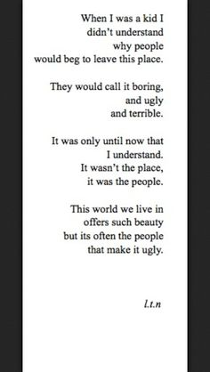 Quotes about the world and life.
