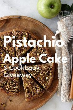 Pistachio Apple Cake