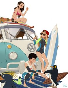 ArtStation - vacance, Hong SoonSang