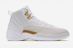07b1cf7be OVO Air Jordan 12 White Release Date. The Air Jordan 12 OVO in White and  Metallic Gold is part of Drake s Air Jordan OVO Collection releasing  October 2016