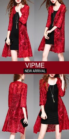 Embroidery dresses could be pretty similiar to you, yet embroidery cardigans is not that common. Designed and tailored by our fashion designers. Grab it on VIPme.com now!