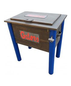 Take a look at this Florida Gators Rustic Wooden Cooler by Leigh Country on #zulily today!