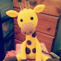 Geoff the Giraffe Crochet Pattern £1.99 #crochet #amigurumi #giraffe