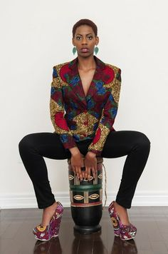 blazer-bd... African Prints in Fashion: Prints of the Week: Rahyma